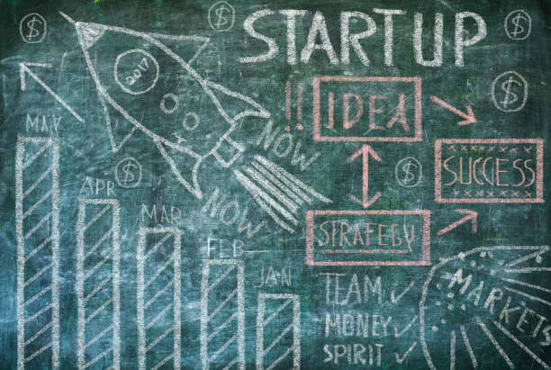 business Startup concept – Foto
