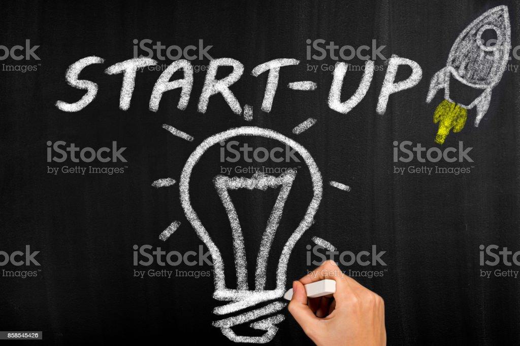 Business startup - Foto stock royalty-free di Affari