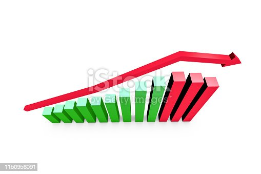 1149620931istockphoto Business Statistic Fail of Graph Chart 1150956091