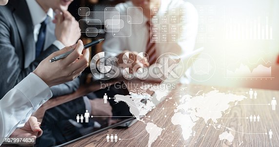 1079974636 istock photo Business statistics concept. 1079974636