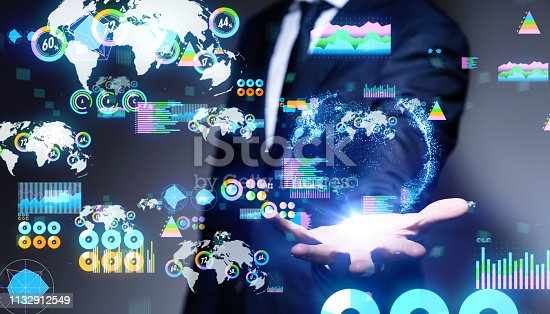 1079974636 istock photo Business statistics concept. 1132912549