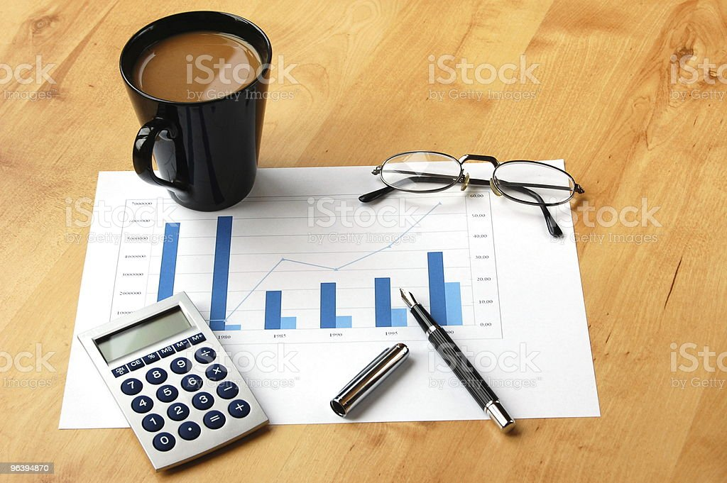 business still life - Royalty-free Analyzing Stock Photo