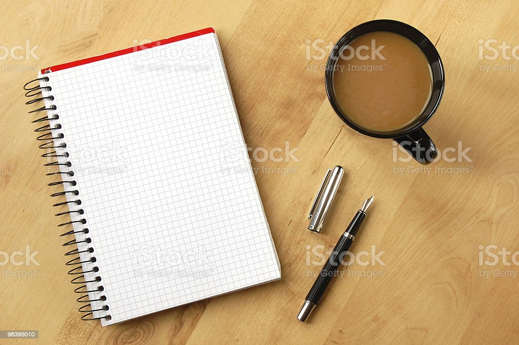 business still life with copyspace - Royalty-free Blank Stock Photo