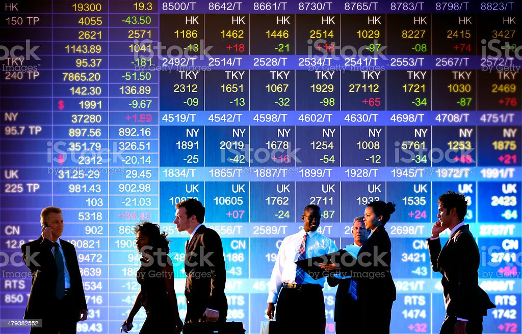 Business Stock Exchange Trading Concepts stock photo