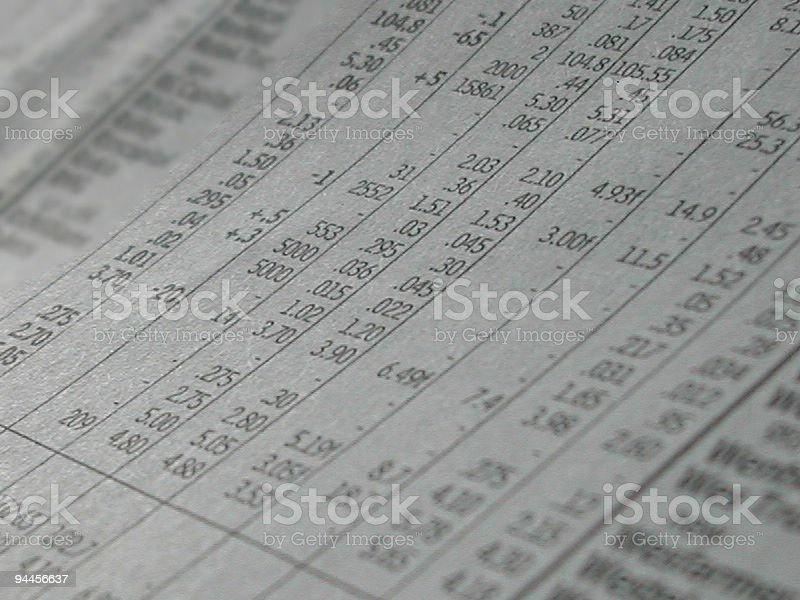 Business Stock Pages royalty-free stock photo