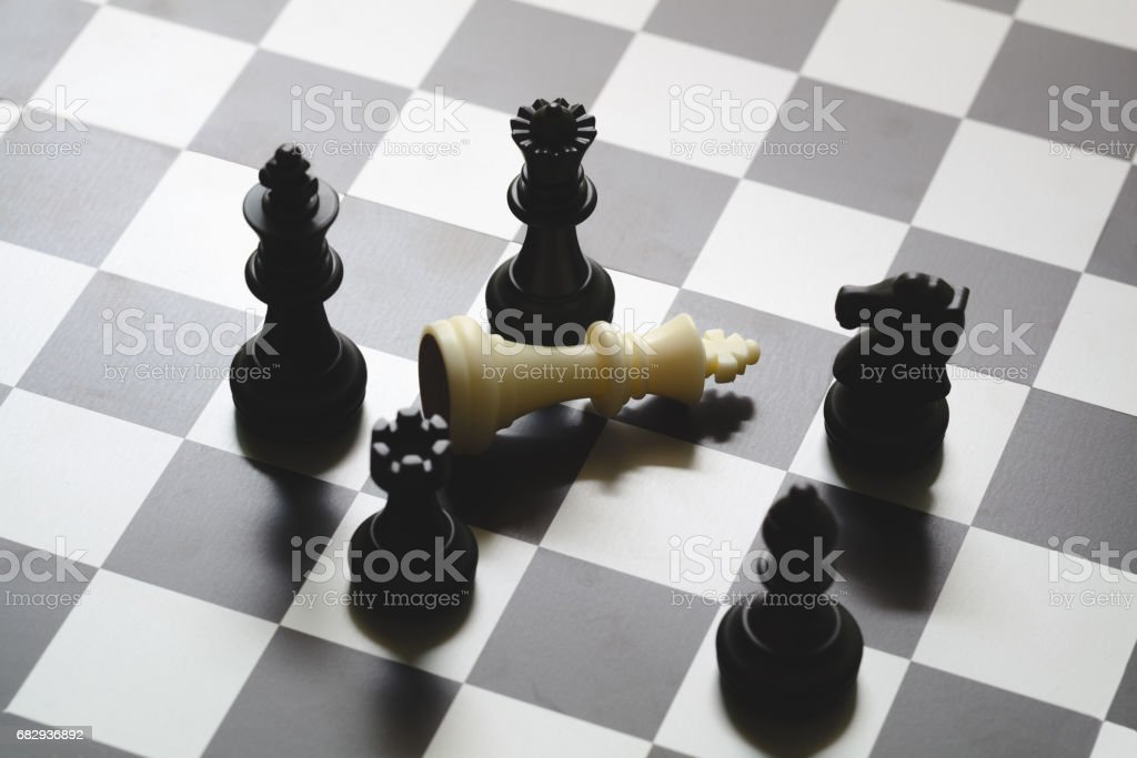 Business strategic formation stock photo