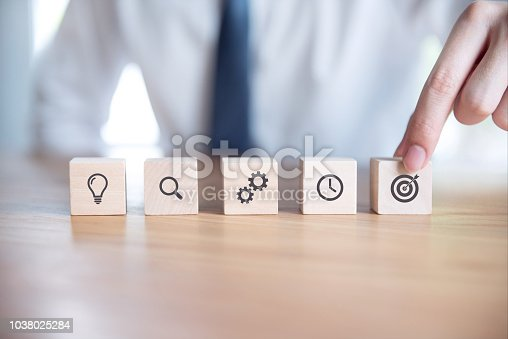 istock Business strategy and Action plan. 1038025284