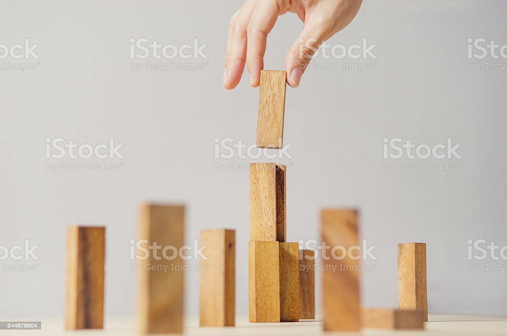 Business strategy and planning stock photo
