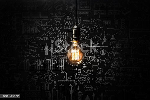 istock Business strategy concept 483106872