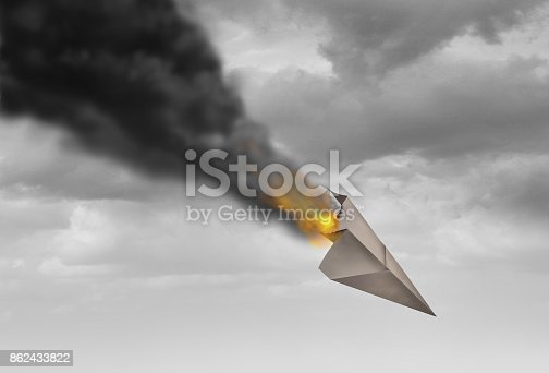 istock Business Strategy Failure 862433822