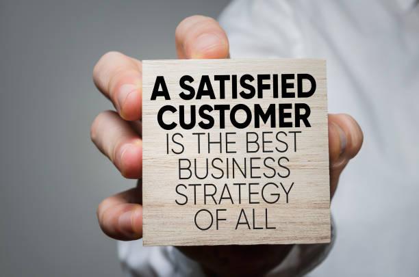 business strategy - cliente foto e immagini stock