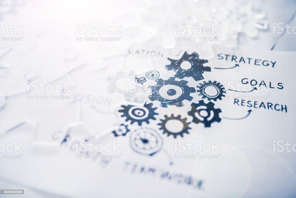 業務戰略 - 免版稅信息圖形圖庫照片