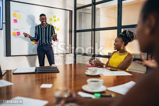 497451790 istock photo Business Strategy Presentation 1191816319