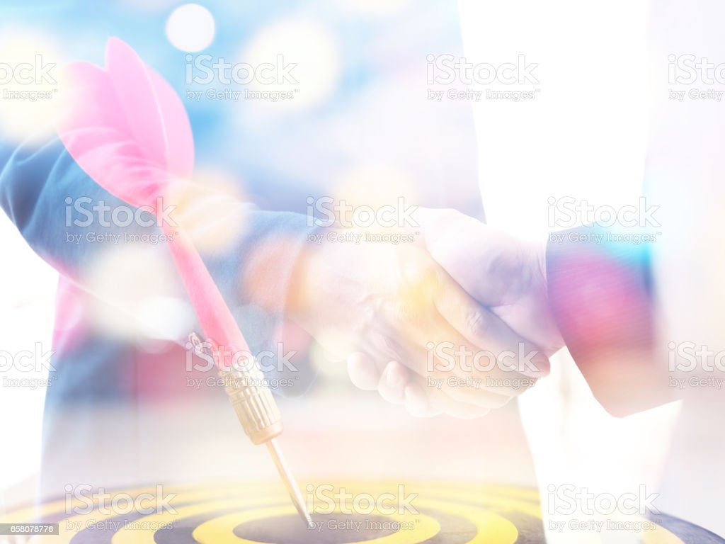 Business success concept royalty-free stock photo