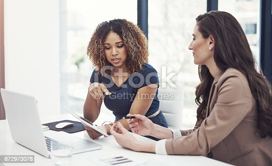 istock Business success is what they're best at 672973078