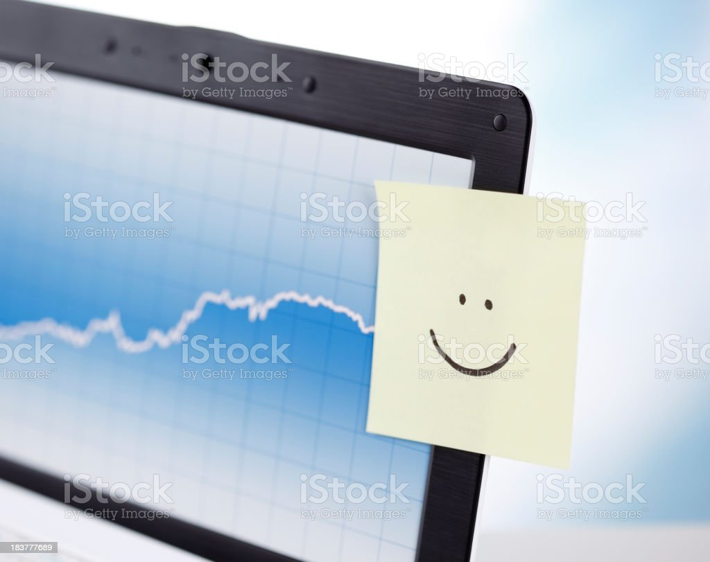 Business success, soaring wealth royalty-free stock photo