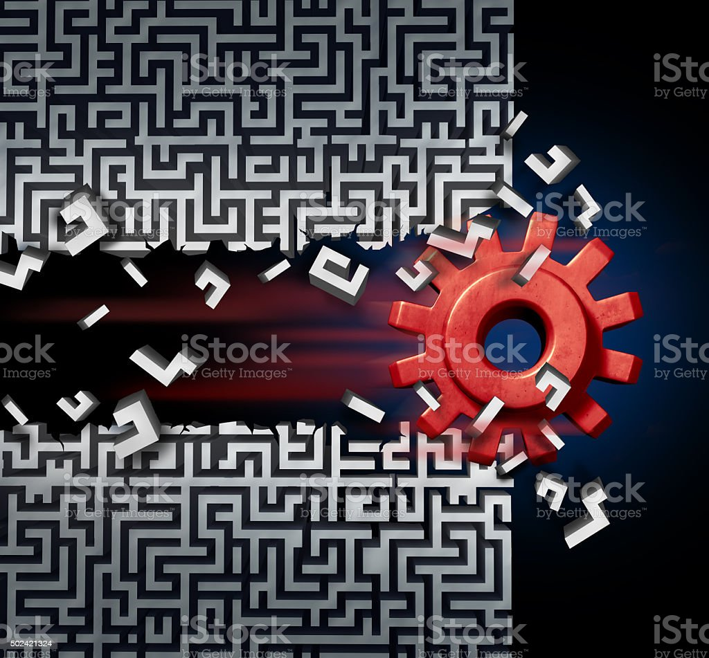 Business Success Solution stock photo