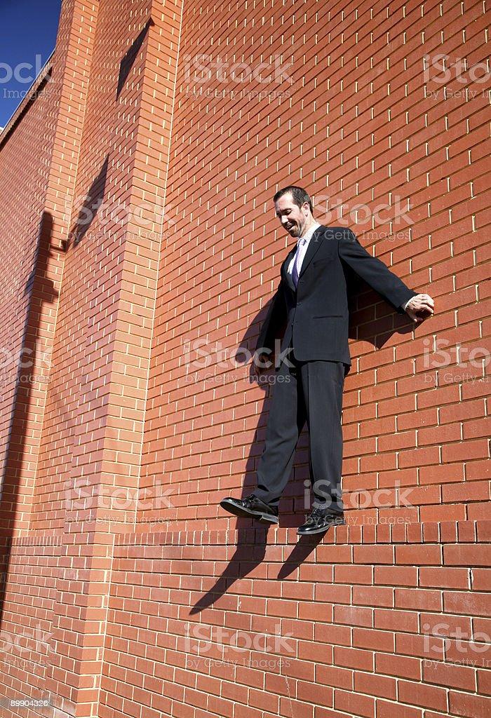 Бизнес Самоубийство Стоковые фото Стоковая фотография