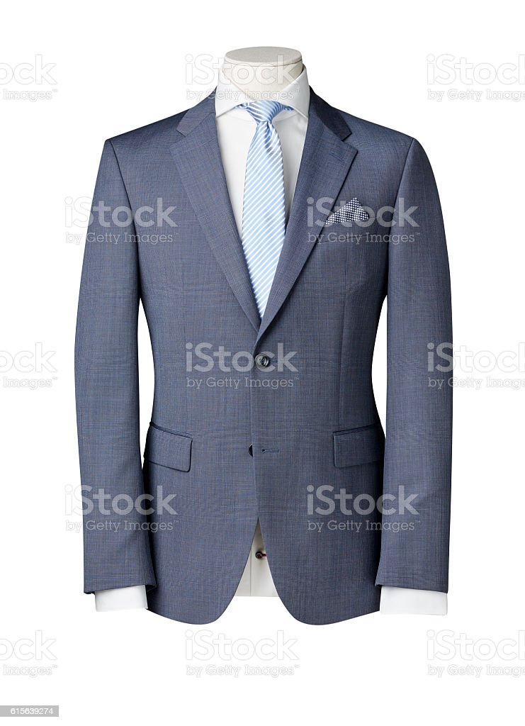 business suit on Mannequin stock photo
