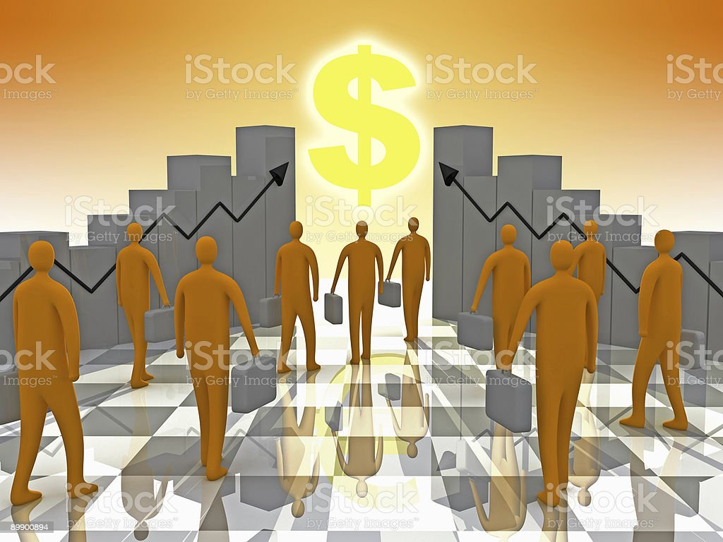 Business Sunshine royalty-free stock photo