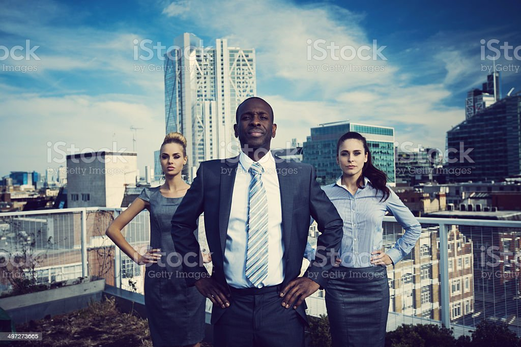 Business Superheroes stock photo