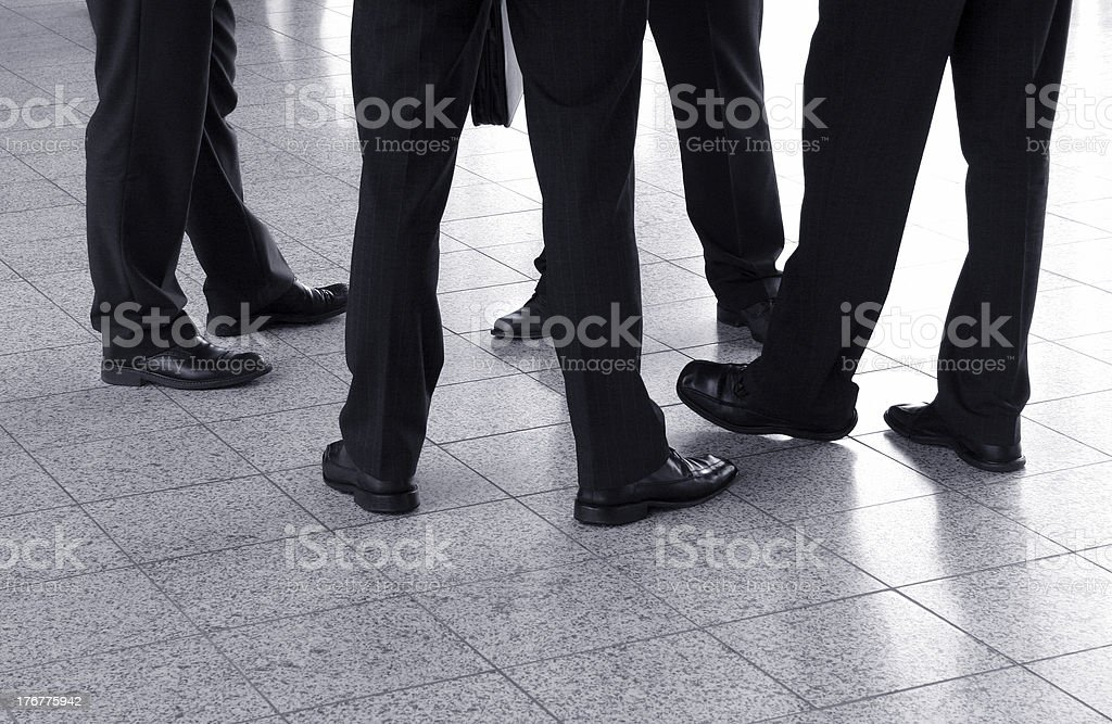 Business Talks royalty-free stock photo