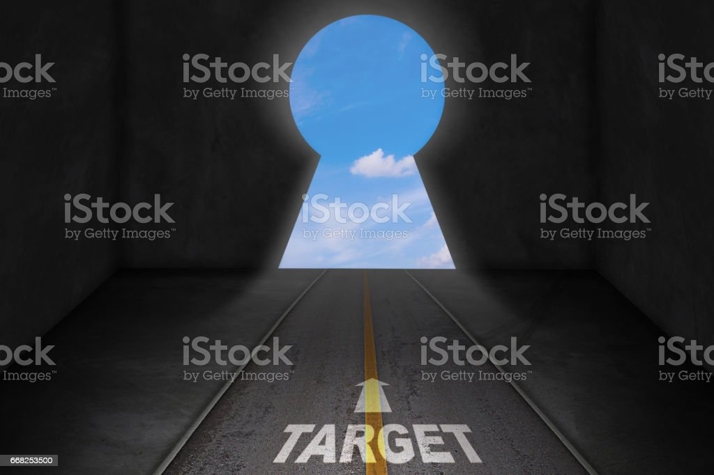 Business Target Concept foto stock royalty-free