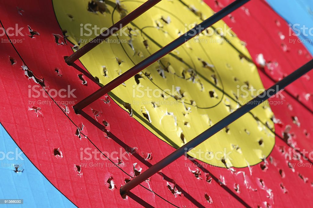 Business target concept royalty-free stock photo