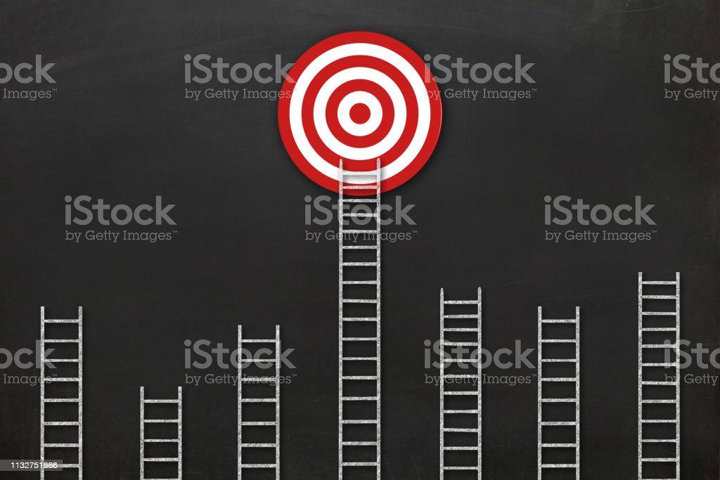 Business Zielleiter der Erfolgsführung – Foto