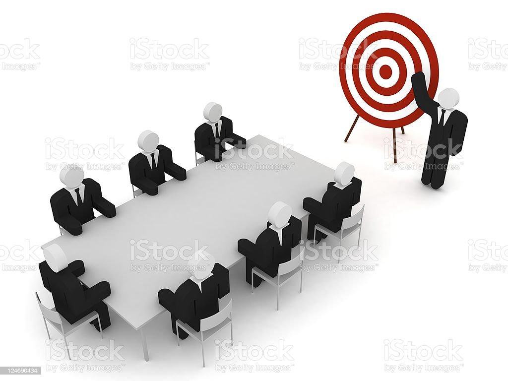 Business Target stock photo