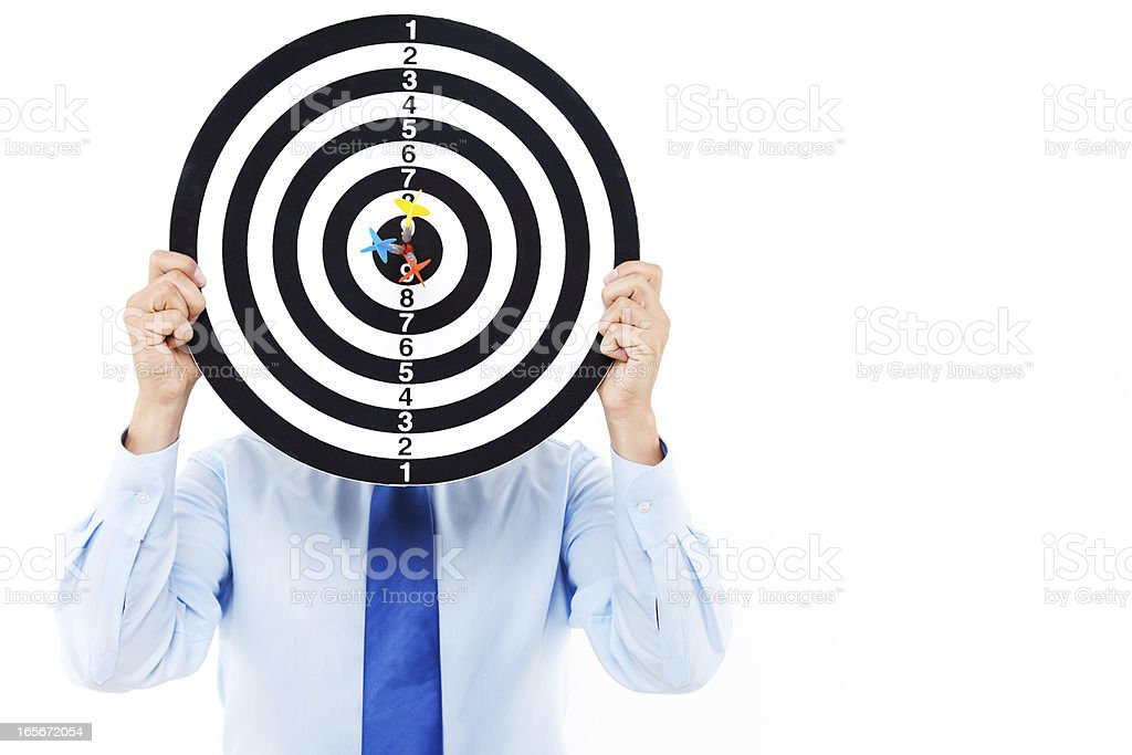 Business Target stock photo