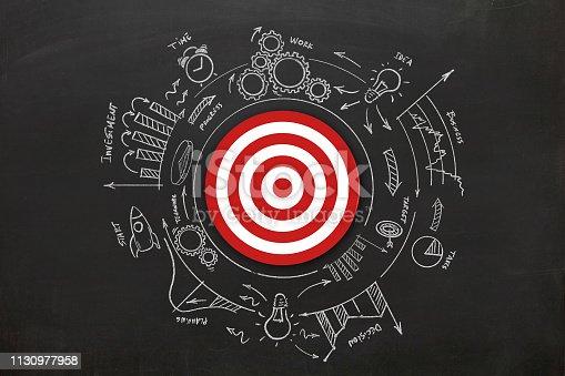 istock Business target startup leadership idea innovation success 1130977958