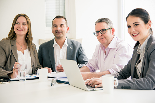 672116416 istock photo Business Task Force Workgroup Together 672116542
