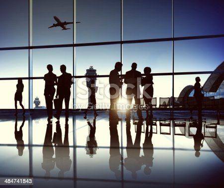 istock Business Team at the Airport 484741843
