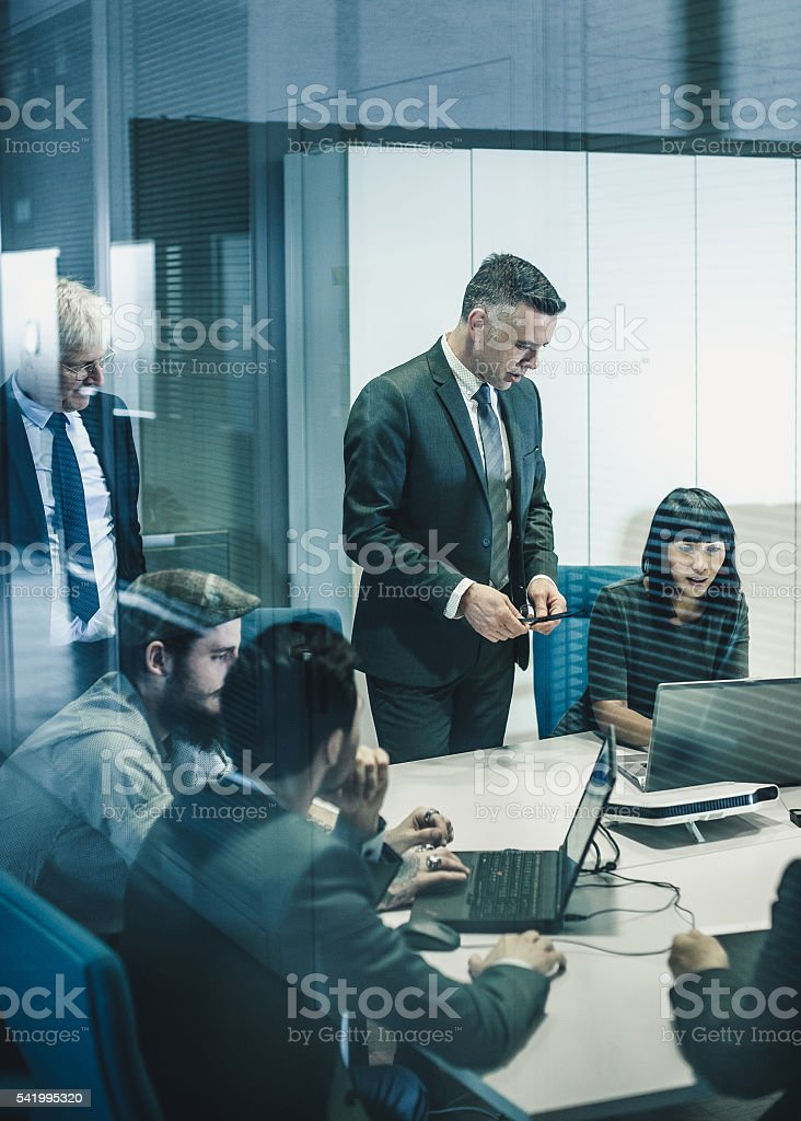 Business team at the office