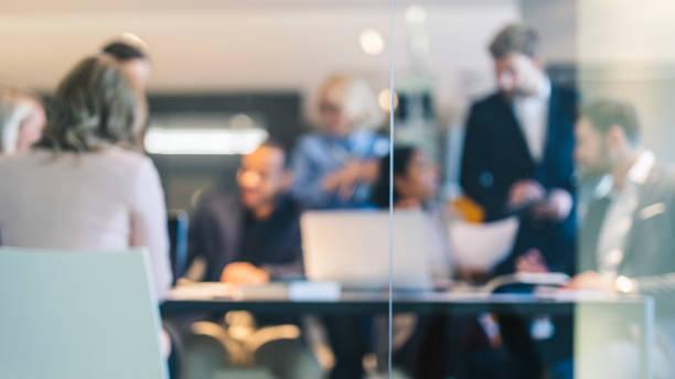 ビジネス チームの背景 - オフィス ストックフォトと画像