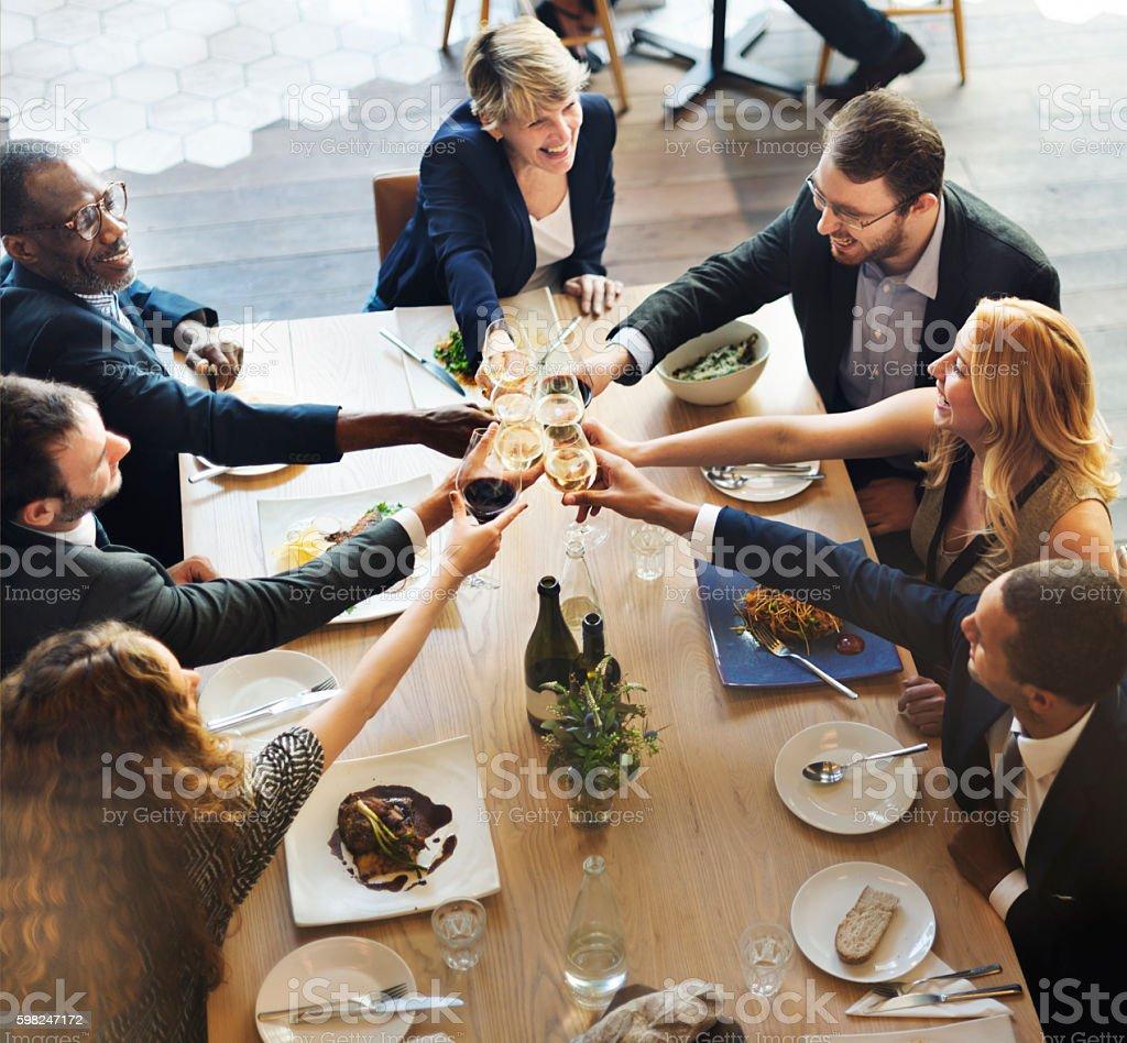 Équipe d'affaires succès Concept de fête - Photo