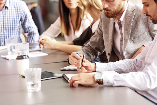 Business Team Collaborating Stock Photo - Download Image Now