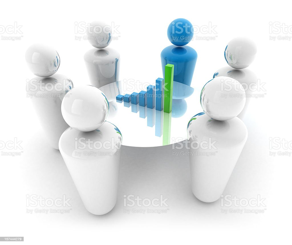 Business Team Concept royalty-free stock photo