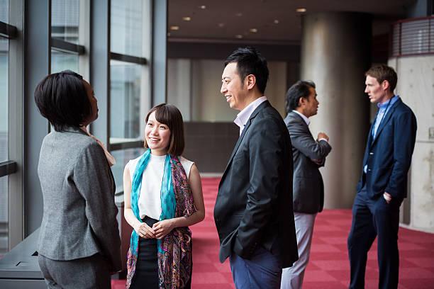 비즈니스 팀 컨설팅 이 회의에서 포이어 스톡 사진