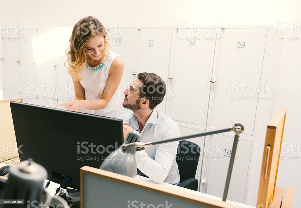 Business Team Cooperate. royalty-free stock photo