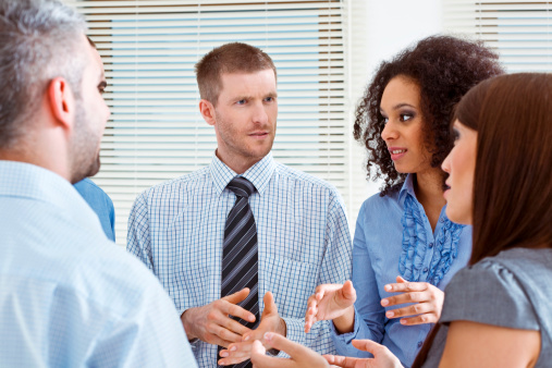 Business Team Discussing Stock Photo - Download Image Now
