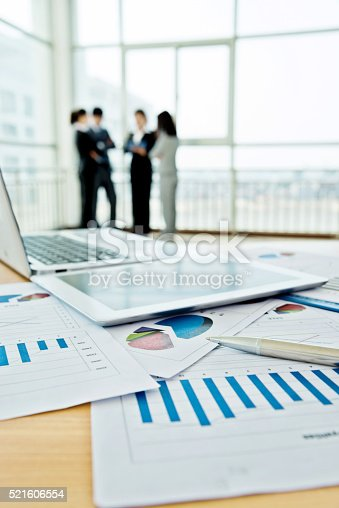 istock Business team discussing 521606554