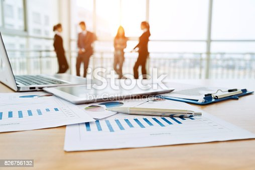 istock Business team discussing 826756132