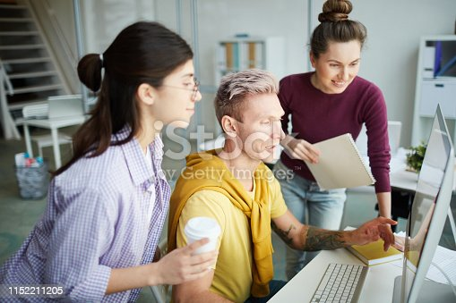 istock Business Team Discussing Project 1152211205