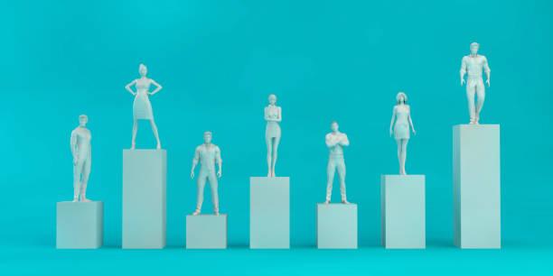 Business Team Evaluation stock photo