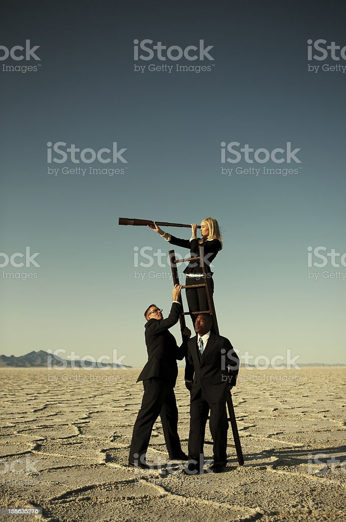 Business Team Goals stock photo