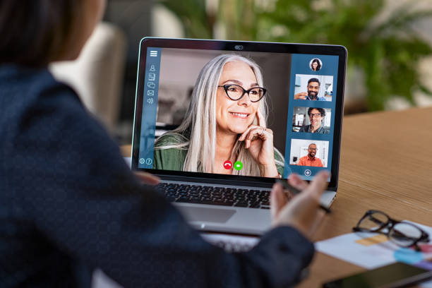 Business team in video conference picture id1213470242?b=1&k=6&m=1213470242&s=612x612&w=0&h=j4v2cvb1jfaqc878urmg1h ivtj4hkwfh9uv11xdjy4=