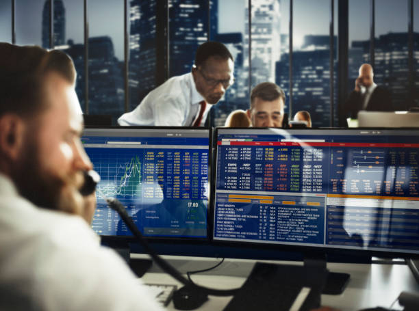 Business Team Investment Entrepreneur Trading Concept - foto stock