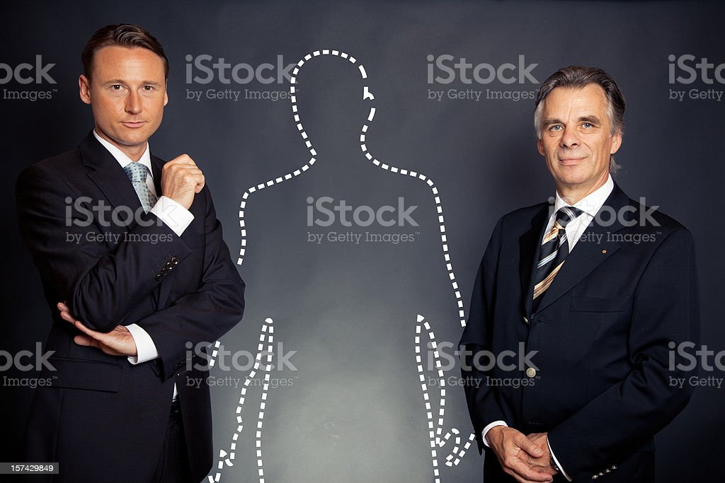 business team is hiring royalty-free stock photo